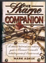 ADKIN, Mark  ( Cornwell, Bernard ) The Sharpe Companion : A detailed historical and military guide t